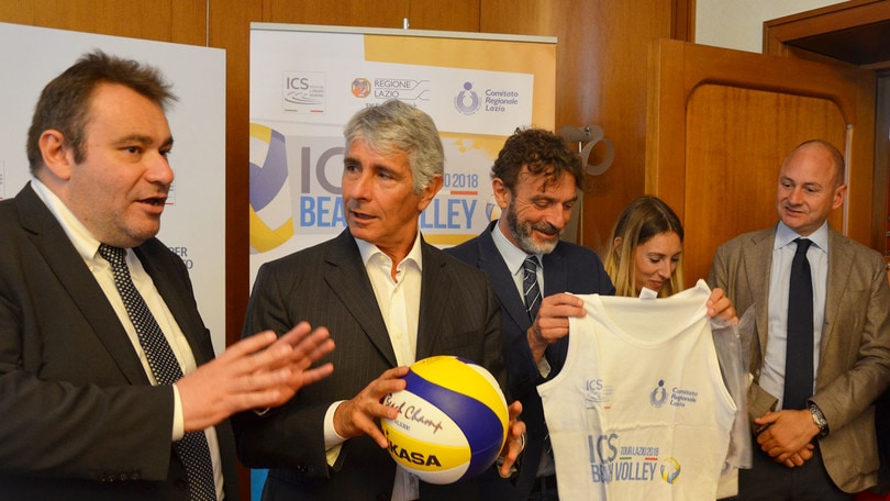 Beach Volley: al via l'ICS Beach Volley Tour Lazio 2018