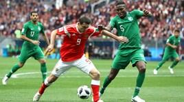 Mondiali 2018, Russia-Arabia Saudita: il film della partita