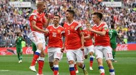 Mondiali 2018, Russia-Arabia Saudita: super Golovin, che assist!