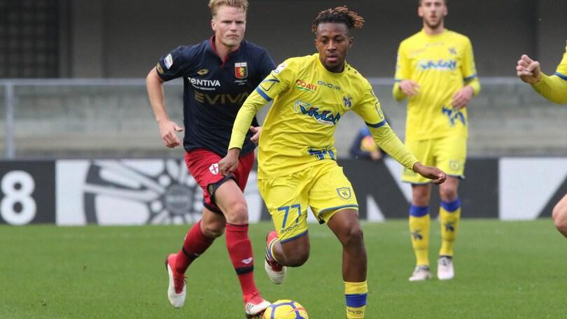 Calciomercato Chievo, Bastien ceduto allo Standard Liegi