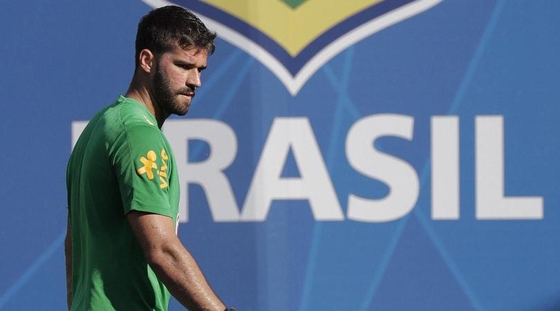 Calciomercato Roma, il Liverpoool molla Alisson: il brasiliano costa troppo