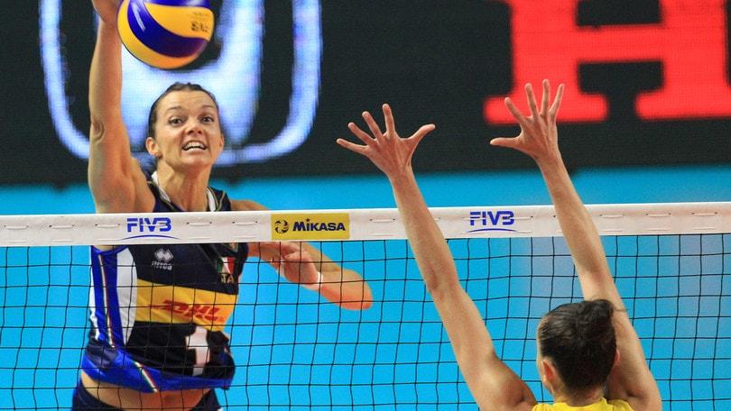 Volley: Volleyball Nations League, una bella Italia batte il Brasile ma non basta