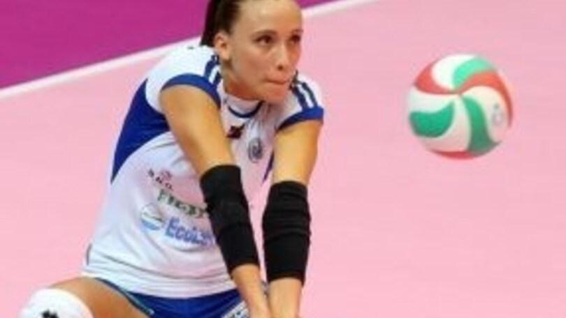 Volley: A2 Femminile, Eleonora Bruno è il libero di Perugia