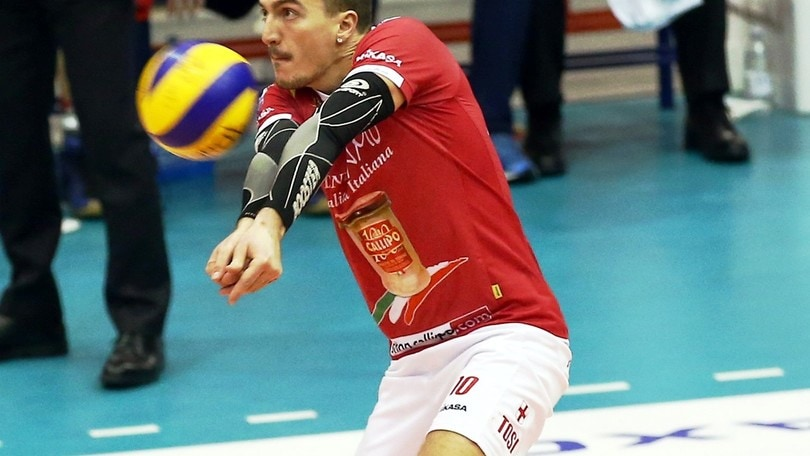 Volley: Superlega, Latina ha un nuovo libero: Tosi