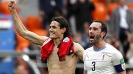 Gioia Uruguay al 90', Gimenez affonda l'Egitto