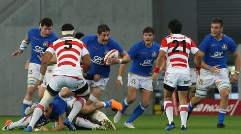Rugby, l'Italia torna alla vittoria: Giappone ko 25-22