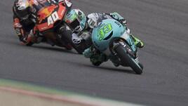 Moto3 Catalogna, Bastianini si prende la pole