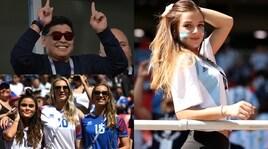 Non solo Maradona. Lo show sugli spalti