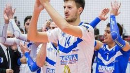 Volley Superlega: a Sora il giovane centrale Esposito
