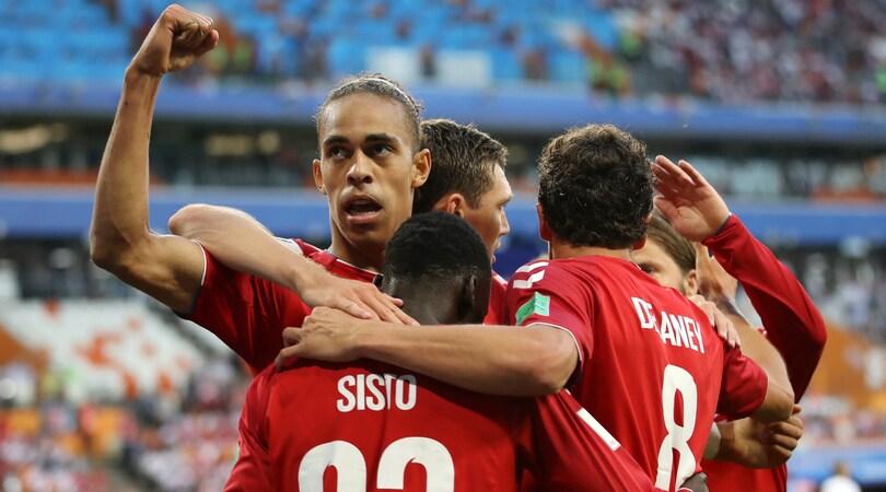 Perù-Danimarca 0-1: Poulsen beffa Gareca, tradito dall'errore di Cueva