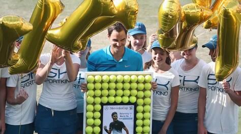 Federer torna numero uno del mondo