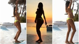 Federica Nargi lascia Matri di stucco: balletto sexy al tramonto