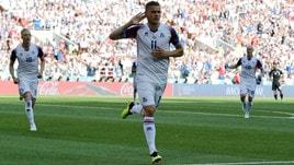 Calciomercato Bologna, fari puntati sull'islandese Finnbogason