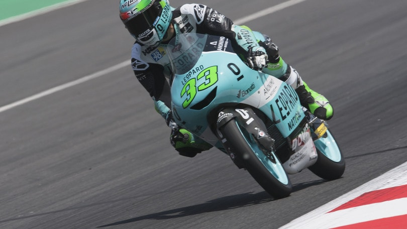 Moto3 Catalogna: trionfa Bastianini, secondo Bezzecchi