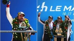 Le Mans: il trionfo di Alonso