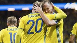 Mondiali 2018, la vittoria della Svezia vale 2,10