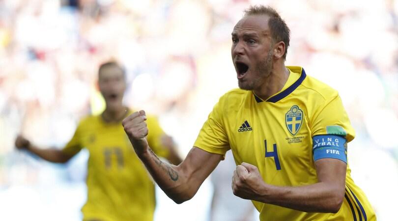 Svezia-Corea del Sud 1-0, rigore con il Var: Granqvist firma 3 punti pesanti