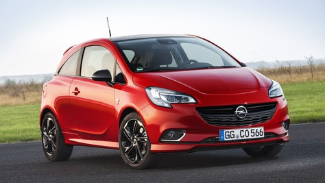 Opel Corsa Black Edition, compatta chic