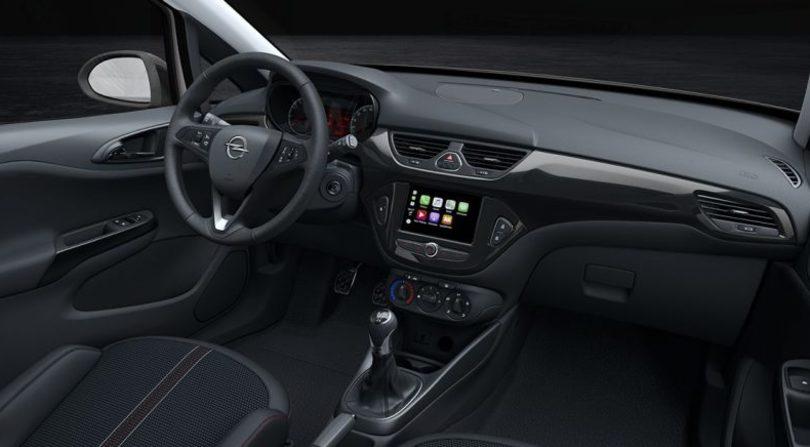 Opel Corsa Black Edition, compatta chic