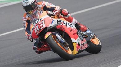 MotoGp, test Barcellona: primo Marquez, 14° Rossi