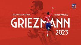 Griezmann-Atletico Madrid, contratto fino al 2023