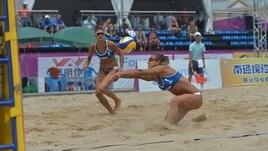 Beach Volley: tre coppie italiane in campo a Singapore