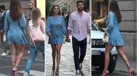 Cecilia Rodriguez sexy a Milano con Ignazio Moser