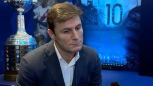 """Zanetti come De Gregori: """"Messi..."""""""