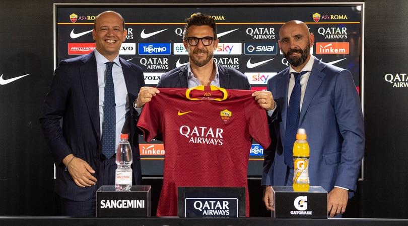 Roma, Di Francesco: «Stiamo lavorando a una squadra super competitiva»
