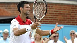 Tennis: al Queen's Djokovic ok