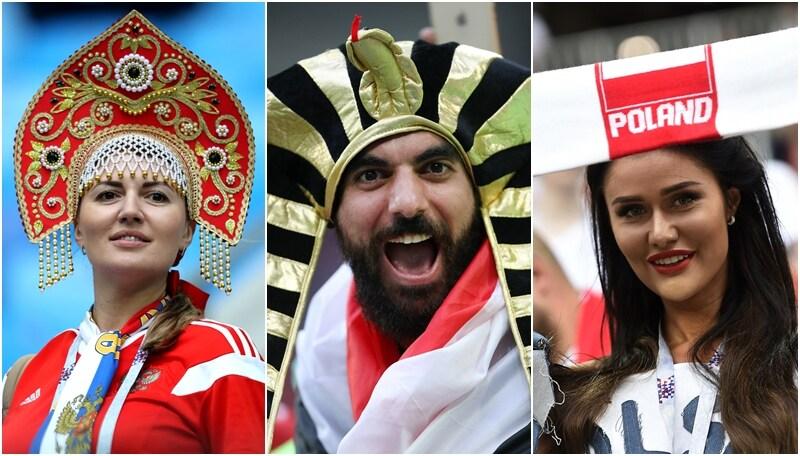 Cosacchi, Zar e Faraoni: show mondiale sugli spalti
