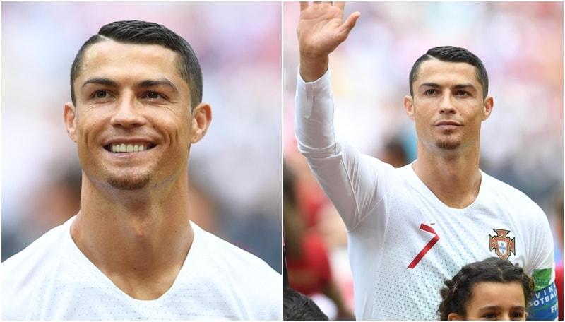 Cristiano Ronaldo e il pizzetto...da Capra!