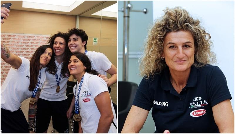 Le campionesse mondiali di basket 3x3 ospiti al Corriere dello Sport-Stadio