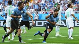 Mondiali 2018, Uruguay-Arabia Saudita: decide Suarez