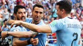 Arabia battuta 1-0, Uruguay agli ottavi