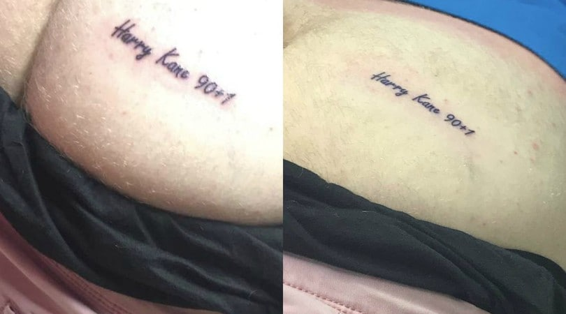 Inghilterra, follia per Kane: il tatuaggio diventa... intimo