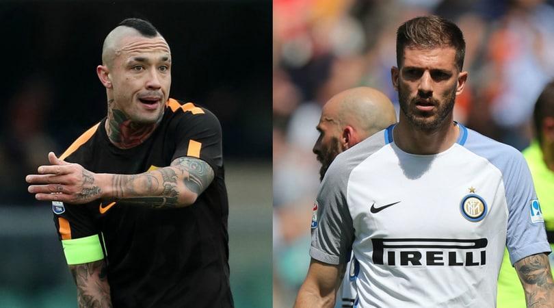 Roma, Nainggolan verso Inter: nella trattativa c'è a sorpresa Santon