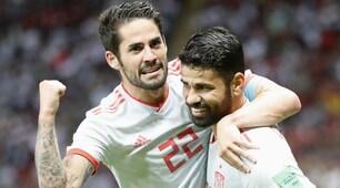 Mondiali 2018, Iran-Spagna 0-1: Diego Costa gol, aggancio al Portogallo