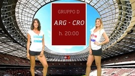 Sfide Mondiali: Argentina-Croazia