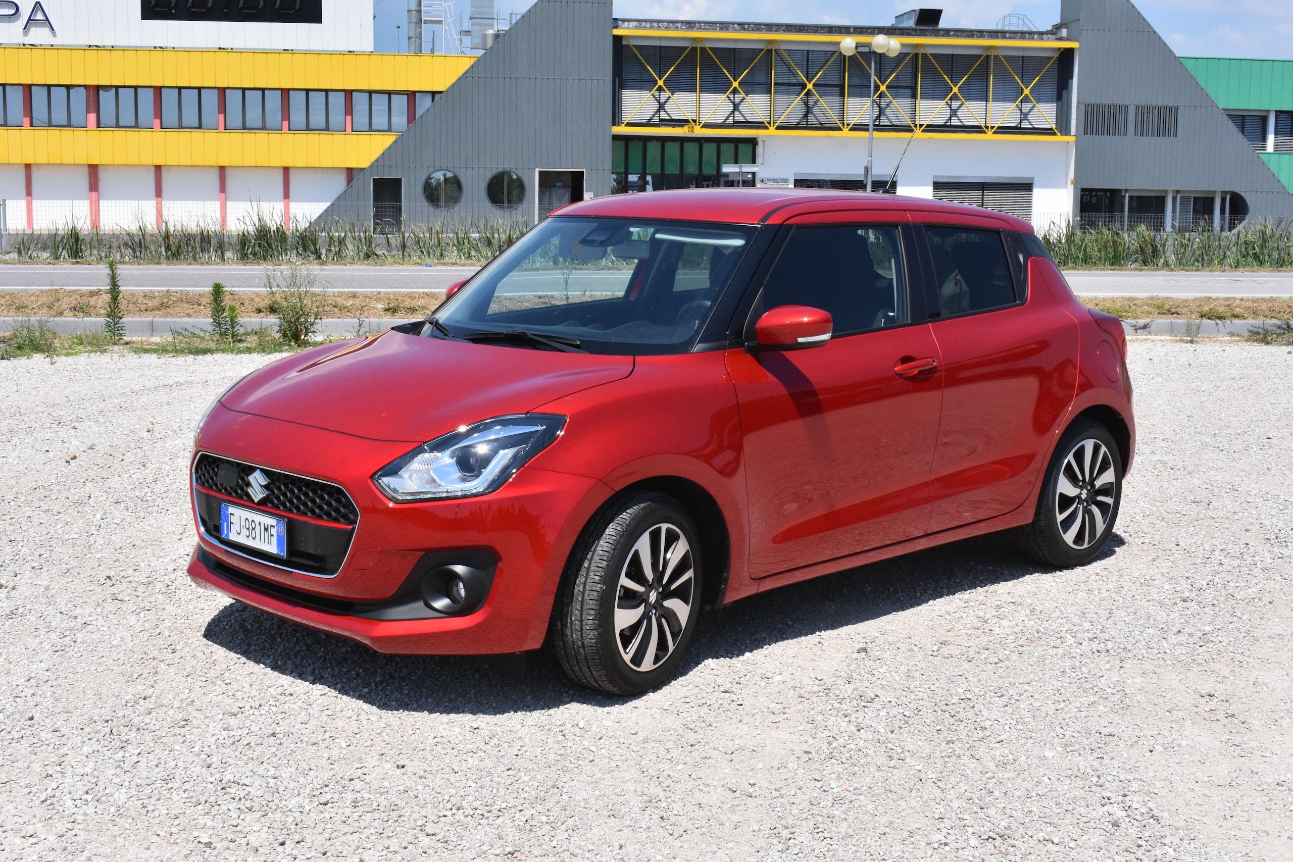 Test comparato: Suzuki Swift Hybrid - Kia Nito Hybrid