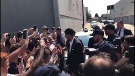 Juventus, i tifosi accolgono Emre Can