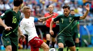 Danimarca-Australia: il film della partita