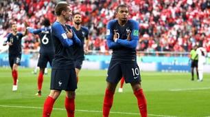 Mbappé porta la Francia agli ottavi