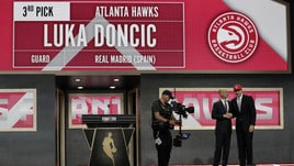 Draft NBA, Atlanta sceglie Doncic e lo gira a Dallas