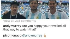 Argentina ko: Murray scherza, Monaco non la prende bene