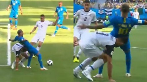 Brasile-Costa Rica, il Var toglie un rigore a Neymar
