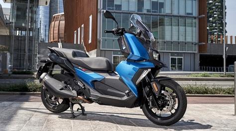 BMW C400X: le foto del test