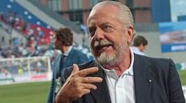 Napoli, De Laurentiis: «Areola? Ho anche altri tre nomi. Sarri al Chelsea, siete sicuri?»