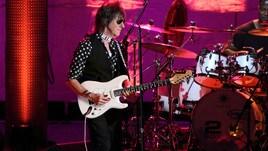 Jeff Beck in concerto al Teatro di Ostia Antica