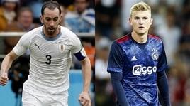 Nuova difesa Juventus: il primo è Godin, ma piace anche De Ligt